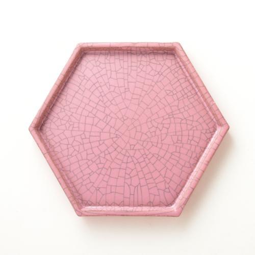HASAMI ハニカムトレイ4号 ピンクの写真