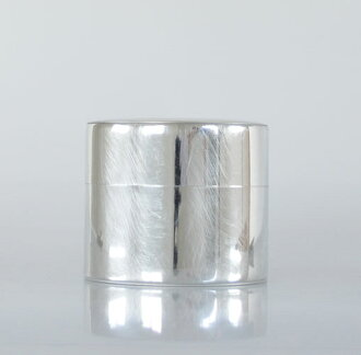 Syuro Japanese handmade circle tin can big[fs01gm]