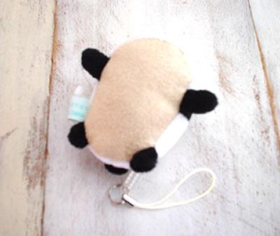 しろたん携帯クリーナーパンダ