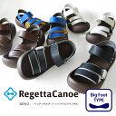 Regetta Canoe -リゲッタカヌー-CJBF-5171 ビックフット ゴムバンドサンダル/メンズ