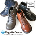 RegettaCanoe-リゲッタカヌー-CJFG-1125 フィールドシューズ ゴム紐 レースアップショートブーツ