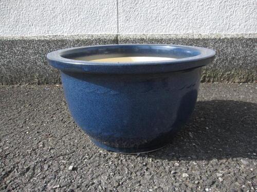送料無料【信楽植木鉢】植木鉢大型生子輪型信楽焼植木鉢15号 本格的ガーデニングに人気の陶製植木鉢