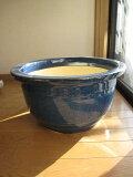 本格的ガーデニングに人気の陶製植木鉢【信楽植木鉢】大型生子輪型信楽焼植木鉢15号