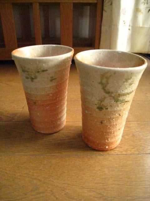 信楽コップ【信楽ビアーカップ】 【ビール】 ペア...の商品画像