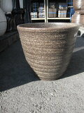 信楽焼き窯肌植木鉢 信楽鉢ネイチャーロング大