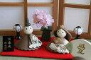 信楽焼の陶器の雛人形信楽焼の陶器のお雛様手作り信楽焼きひな人形初節句のお祝いに 信楽の雛人形 大人になろほど良さと愛着がます 陶器のお雛様の様です。