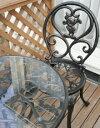 セット内容テーブル1台 チェアー2脚  【送料無料】ディズニー ファンタジアテーブルセット [TD-F01]【テ-ブル】【椅子二脚】【送料無料】ガーデンファニチャアーセット【テーブルセット】