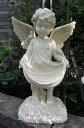 天使置物天使フレアー【送料無料】 天使の置物 ガーデニング オブジェ