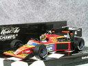 ミニチャンプス 1/43 ティレル フォード 012 / ステファン ベロフ 1984年 モナコ GP