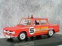 ミニチャンプス 1/43 アルファ ロメオ ジュリア / 1973年 ONS Rennstreckensicherung ( ONS 競馬場オフィシャルカー)