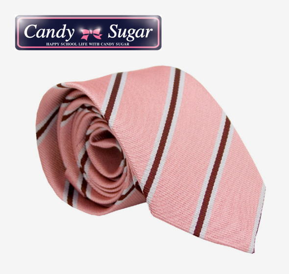 スクールストライプネクタイCandy Sugar キャンディーシュガー