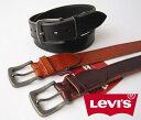 Levi's リーバイス 70216253シンプルステッチ牛革ベルト(40mm幅)