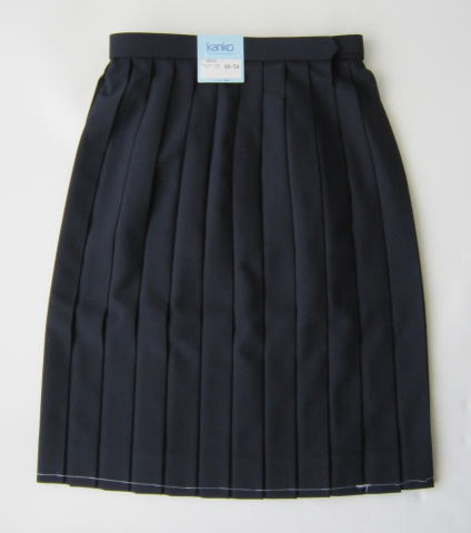 【夏用】スカート(紺) KANKO カンコーポリエステル80% レーヨン20%