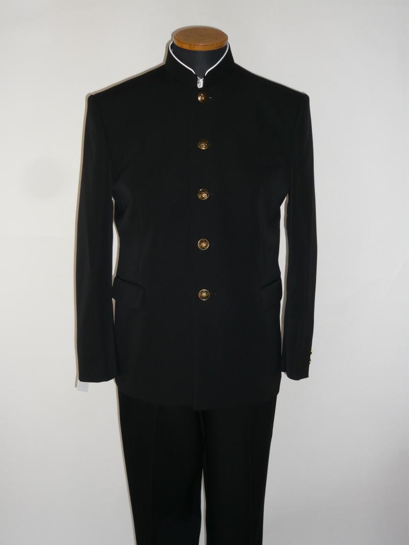 【B体】標準型学生服(上衣)トンボMAX/ウール50%・ポリエステル50%レギュラーカラー/ソフトインカラー 165B〜190B