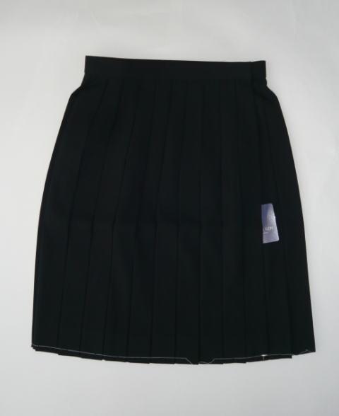 黒スカート(裏地付き)ミッシェルクランスコレールウール50%/ポリエステル50%(セーラー服上衣は別売りです。)