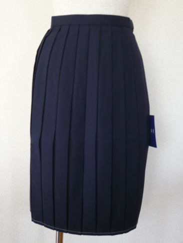 スカート(セーラー服上衣別売り)エルエコール ELLE ECOLEウール50%/ポリエステル50%