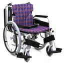 カワムラサイクルKA820-40(38・42)B-中床M(低床LO/超低床SL)自走用脚部スイングイン・アウト車椅子