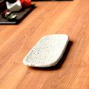 石庭29cm長皿 白 和食器 楕円皿 業務用...