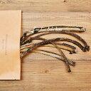 エゾ鹿 リブボーン 【80g】 ジャーキー 犬 おやつ 無添加 国産 北海道釧路産 手作り 鹿肉 ペット・ペットグッズ ドッグフード おやつ 骨(ボーン)ドライフード