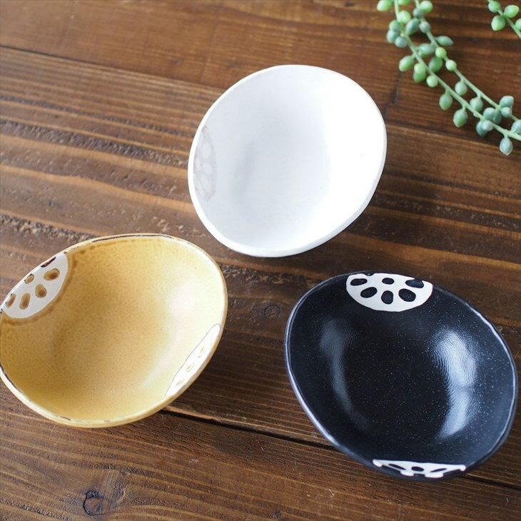 みのる陶器美濃焼れんこん三角小鉢陶器和食器レンジ食洗機OK日本製