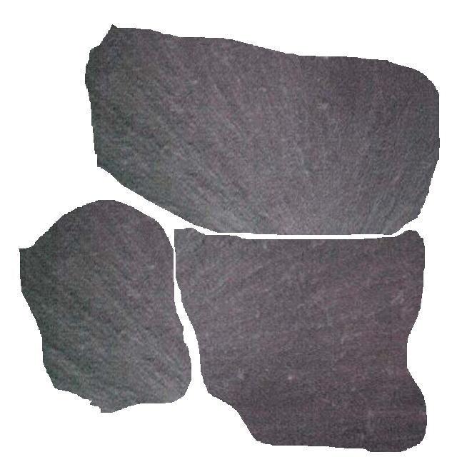 乱形石約05平米ポルトガル玄昌石乱形石敷石庭・アプローチ・ガーデンRCP