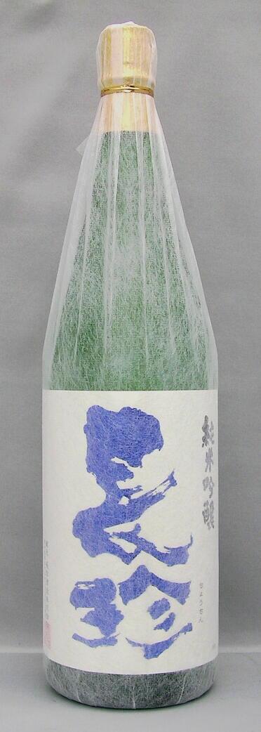 【平成29年8月入荷分】長珍 純米吟醸 1800ml生詰 ブルーラベル