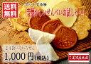 【送料無料 お試し】24袋いろいろせん【1,000円ポッキリ おせんべい (煎餅) 焼菓子 お