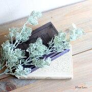 シルバーレース 造花 インテリア 未触媒 フェイクグリーン 観葉植物 5513