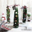Herbarium ハーバリウム クリスマス 【プリザーブドフラワー アーティフィシャルフラワー 造花 植物標本】