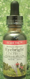 Herbs: eyebright tincture (reviews campaign) eclectic company