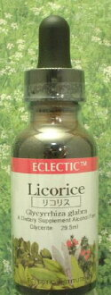 Herbs: licorice tincture (reviews campaign) eclectic company