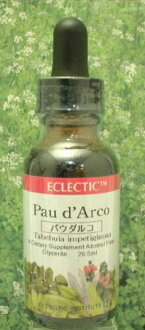Herbal tinctures: d'Arco (reviews campaign) eclectic company