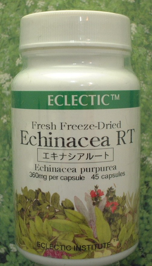 Herbal supplement echinacea root (45 cp) 10% Eclectic company