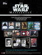 ◆予約◆送料無料 2016 TOPPS STAR WARS MASTERWORK