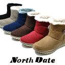 ノースデイト 7003 スノーブーツ 北海道 防水 防滑 防...