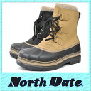 【送料無料】防水 スノーブーツ ビーンブーツ 超防寒 ハンティングブーツ NorthDate ノースデイト 5001 冬インナーブーツ メンズ シューズ 【RCP】 05P03Dec16
