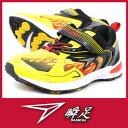 瞬足 SYUNSOKU V8 214 2.5E 男の子 ジュニアスニーカーイエロー V8 SPIKE スパイク【RCP】 05P03Dec16