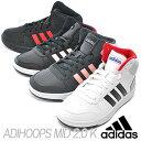 adidas アディダス アディフープス ADIHOOPS MID K ブラック...