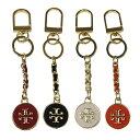 トリーバーチ キーケース・キーリング TORY BURCH 34121 mercer leather inlay key fob