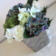 【MIRAGE-STYLE】【サイズM】シルバーcolorモダンシックなフラワーベース/花器/花瓶 和モダン モダンシック MONOTONE 白黒 ブラック モダン 北欧