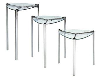 透明玻璃表玻璃客廳茶几英尺 7 (大)