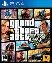PS4 Grand Theft Auto V グランドセフトオートV 輸入版 北米
