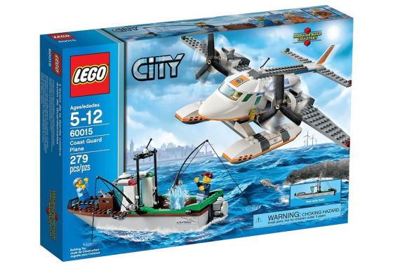レゴ シティ 60015 Coast Guard Plane