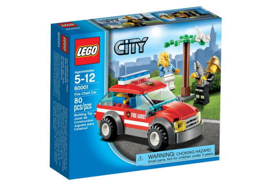 レゴ シティ 60001 ファイヤーパトロールカー