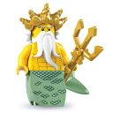 レゴ 8831 ミニフィギュア シリーズ7 海の王様 (Ocean King) - ミニフィグ (1z203)