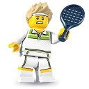 レゴ 8831 ミニフィギュア シリーズ7 トップ・テニスプレイヤー (Tennis Ace) - ミニフィグ (1z208)