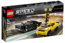 レゴ スピードチャンピオン 75893 2018 ダッジ・チャレンジャー SRT デーモンと 1970 ダッジ・チャージャー R/T