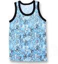 【お買い得】吸汗速乾ウルトラマンX 機能付き下着【キャラサラMAX●ランニングシャツ(水色】