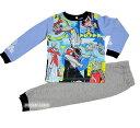 【新製品】ウルトラマンオーブ暗闇で光る長袖パジャマ【そでピカ!:サックス】
