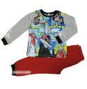 【新製品】ウルトラマンオーブ暗闇で光る長袖パジャマ【そでピカ!:グレー(100〜130cm】
